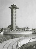 Uitkijktoren diergaarde   Blijdorp, Rotterdam 1938 (NL)